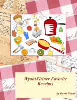 Griner/Wyant favorite receipts