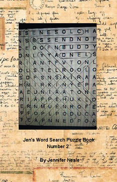 Jen's Word Search Puzzle Book - Number 2