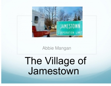 The Village of Jamestown