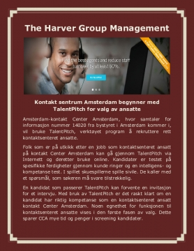 The Harver Group Management