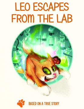 Leo escapes from the lab.