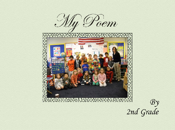 California Poppy Poem by 2nd Grade