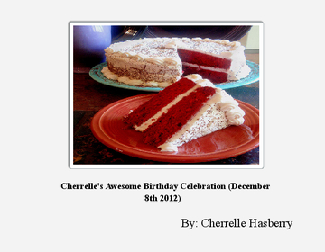 Cherrelle's Awesome Birthday Celebration (December 8th 2012)