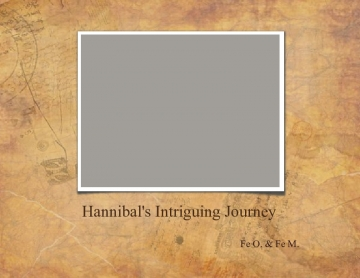 Hannibal's Intriguing Journey