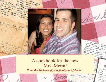 Lauren Merin's First Cookbook!