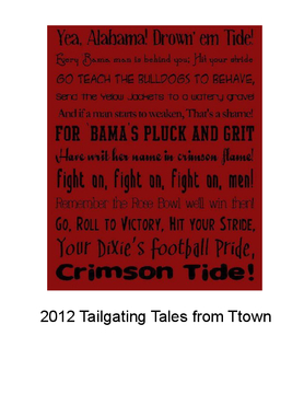 2012 Tailgating Tales from Ttown