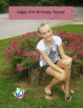 Peyton's 12th Birthday