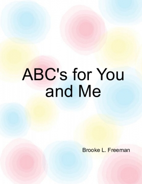 ABC's for You and Me
