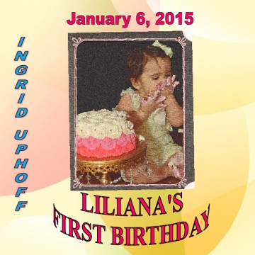 Liliana's First Birthday