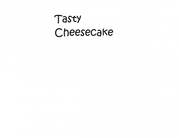 Tasty Cheesecake