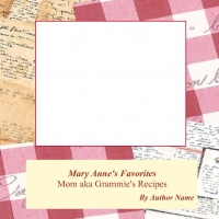 Mary Anne's Recipes