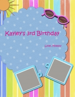 Kayley's 3rd Birthday