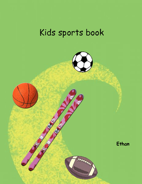 childrens sports book