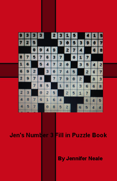 Jen's Number 3 Fill in Puzzle Book