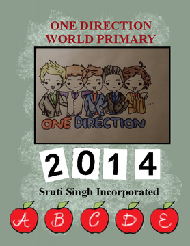 2014 YEARBOOK 1D WORLD