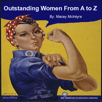 Outstanding Women From A to Z