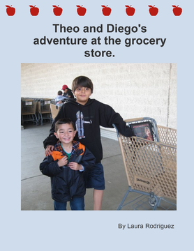 Theo and Diego's Adventure at the Grocery Store
