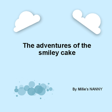The smiley cake