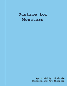 Justice For Monsters
