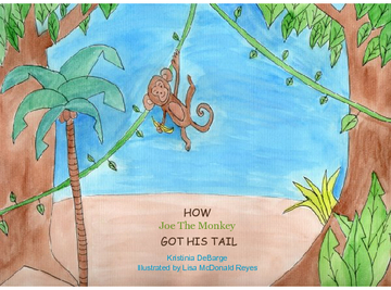 HOW Joe The Monkey GOT HIS TAIL