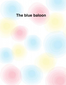 The blue baloon