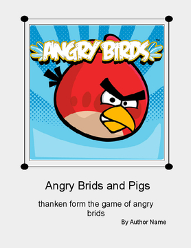 angry brids and pigs