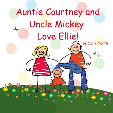 Auntie Courtney and Uncle Mickey love Ellie!
