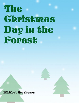 The Christmas Day in the Forest