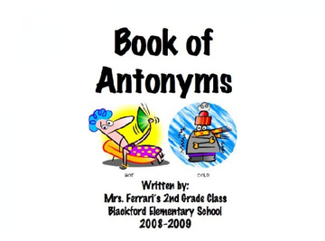 Book of Antonyms