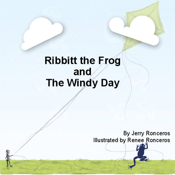 Ribbit The Frog and The Windy Day