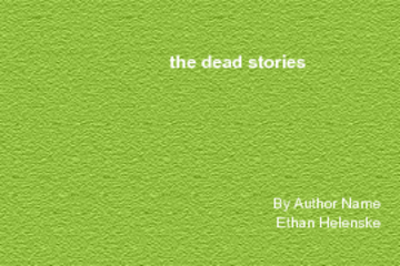 ghost stories of death
