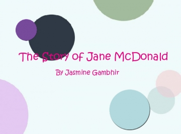 The Story of Jane McDonald