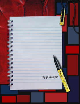a school in a book