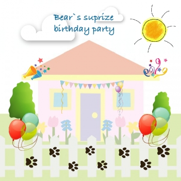 Bear`s Suprize Birthday Party