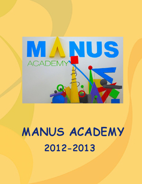 Manus yearbook