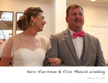 Kevin & Elise Wedding 3-28-15