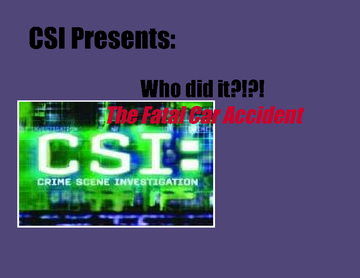 My CSI Project