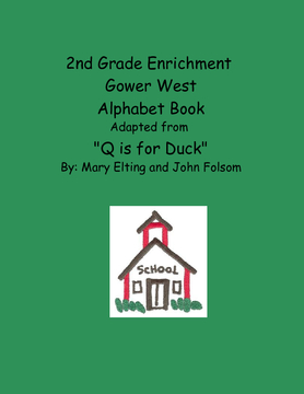 2nd Grade Enrichment Alphabet Book