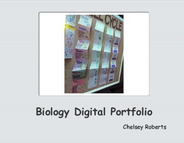 Biology Digital Portfolio