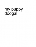 my puppy (doogal)