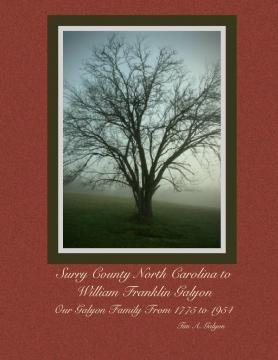 Surry County North Carolina to William Franklin Galyon