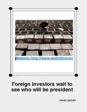 Foreign investors wait to see who will be president in Indonesia