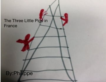 The Three Little Pigs in Paris