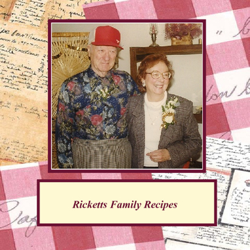 Ricketts Family Recipes