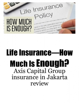 Life Insurance—How Much Is Enough?