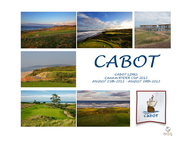 Cabot Links CanAm Ryder Cup