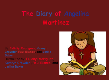 The Diary of Angelina Martinez