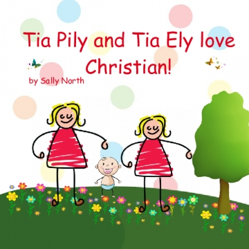 Tia Pily and Tia Ely love Christian