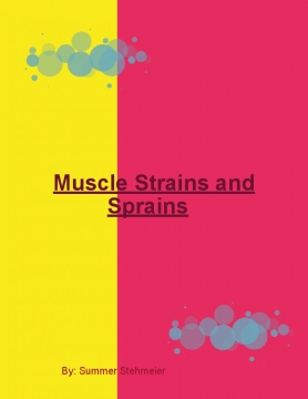 Muscle Strains and Sprains
