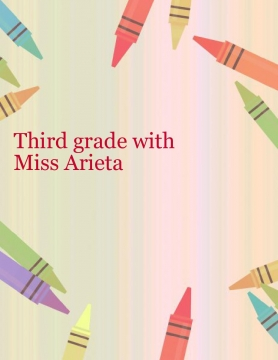 The third grade with Miss Arieta